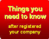 Things you need to know after registered your company